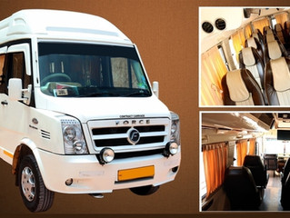 17 Seat Force Traveller Rental in Trivandrum