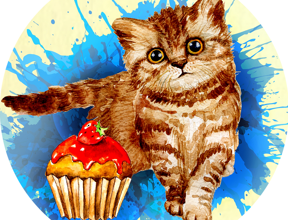 Premade Culinary Cat Cozy Mystery Vella Kitten and Cupcake