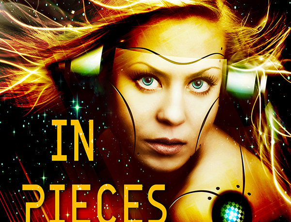 Premade Science Fiction Cyborg Romance Book Cover