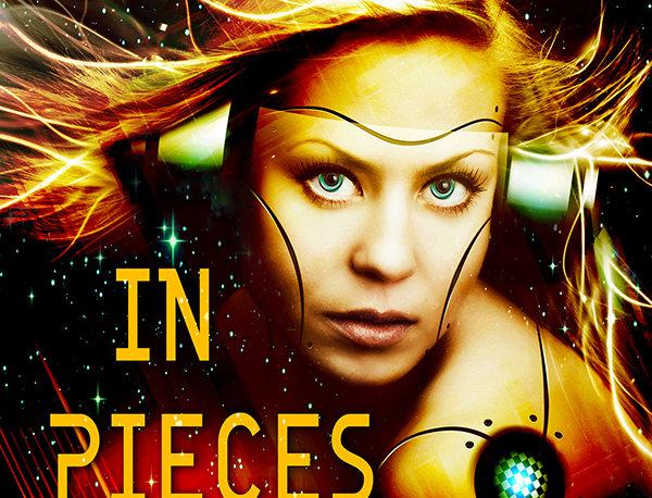 Premade Science Fiction Cyborg Romance Book Cover