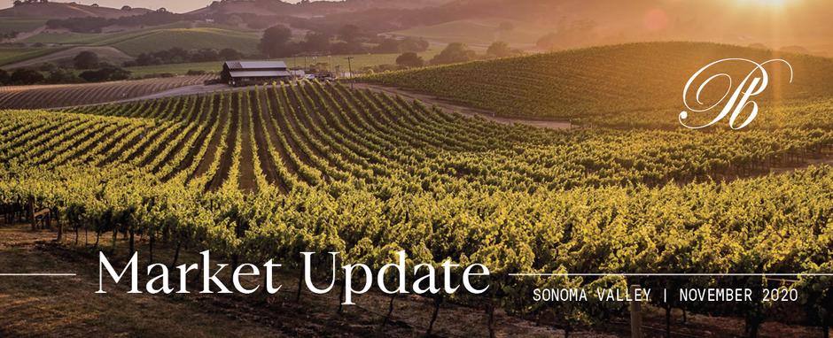Sonoma Valley Market Update - November 2020