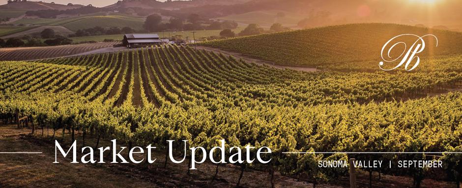 Sonoma Valley Market Update September 2020