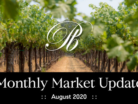 Sonoma Valley Market Update August 2020