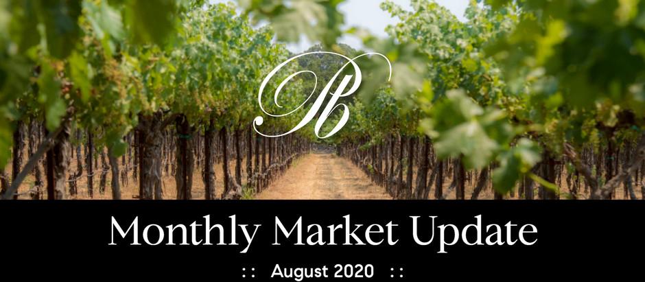 Sonoma Valley Market Update August 2020