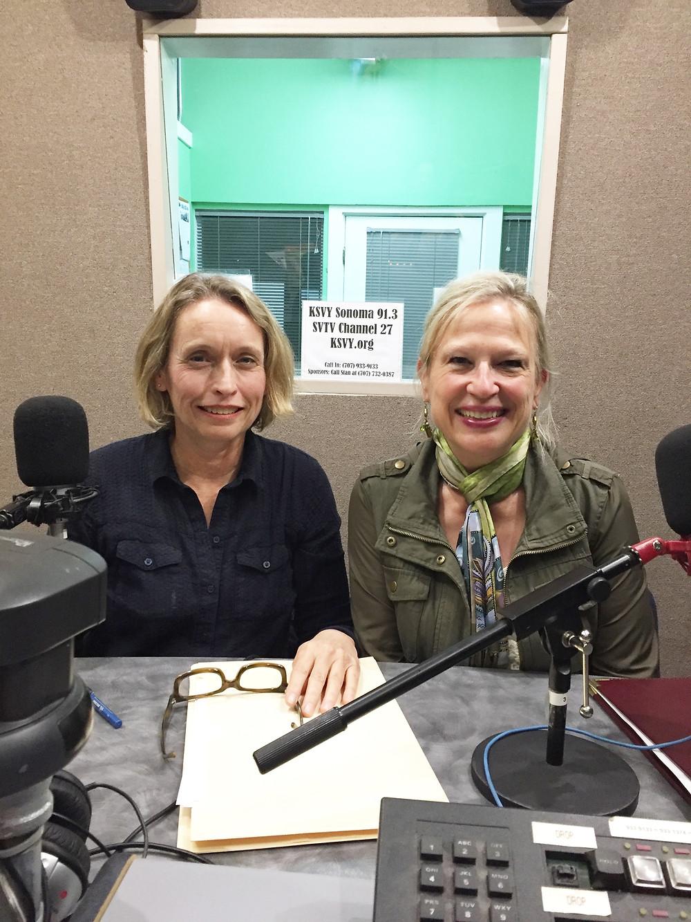Phoebe Brookbank & Carol Young