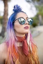 5 Temporary Hair Colors Perfect for Coachella