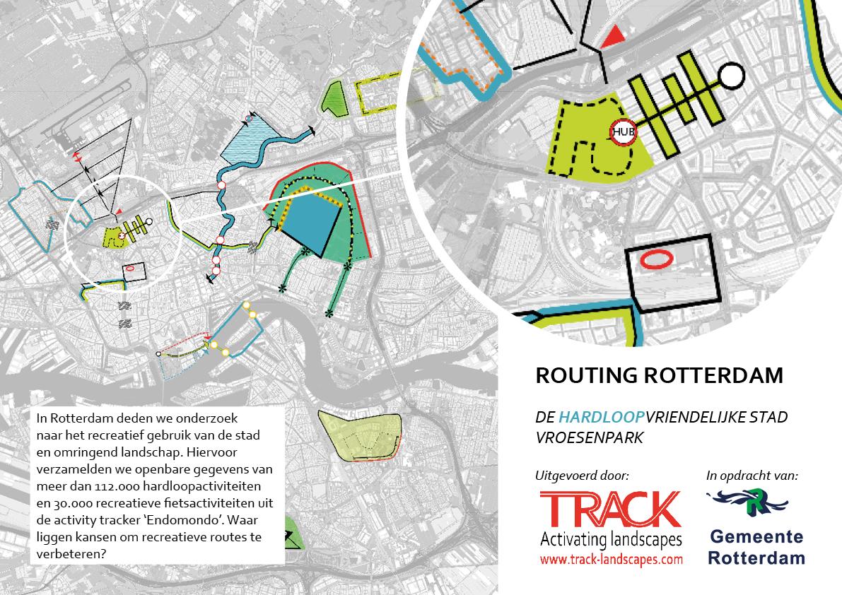 Vroesenpark hardlopen rotterdam NL