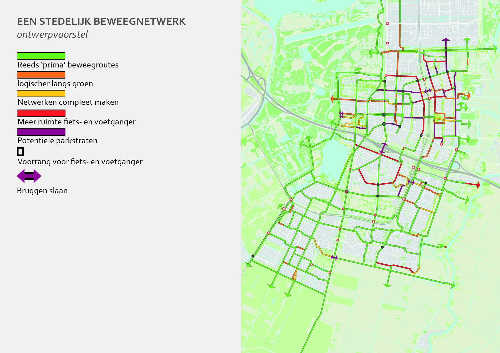 Amstelveen beweegnetwerk looproutes en fietsroutes_track-landscapes