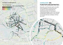 hardloopgebruik routes en fijnstof luchtkwaliteit