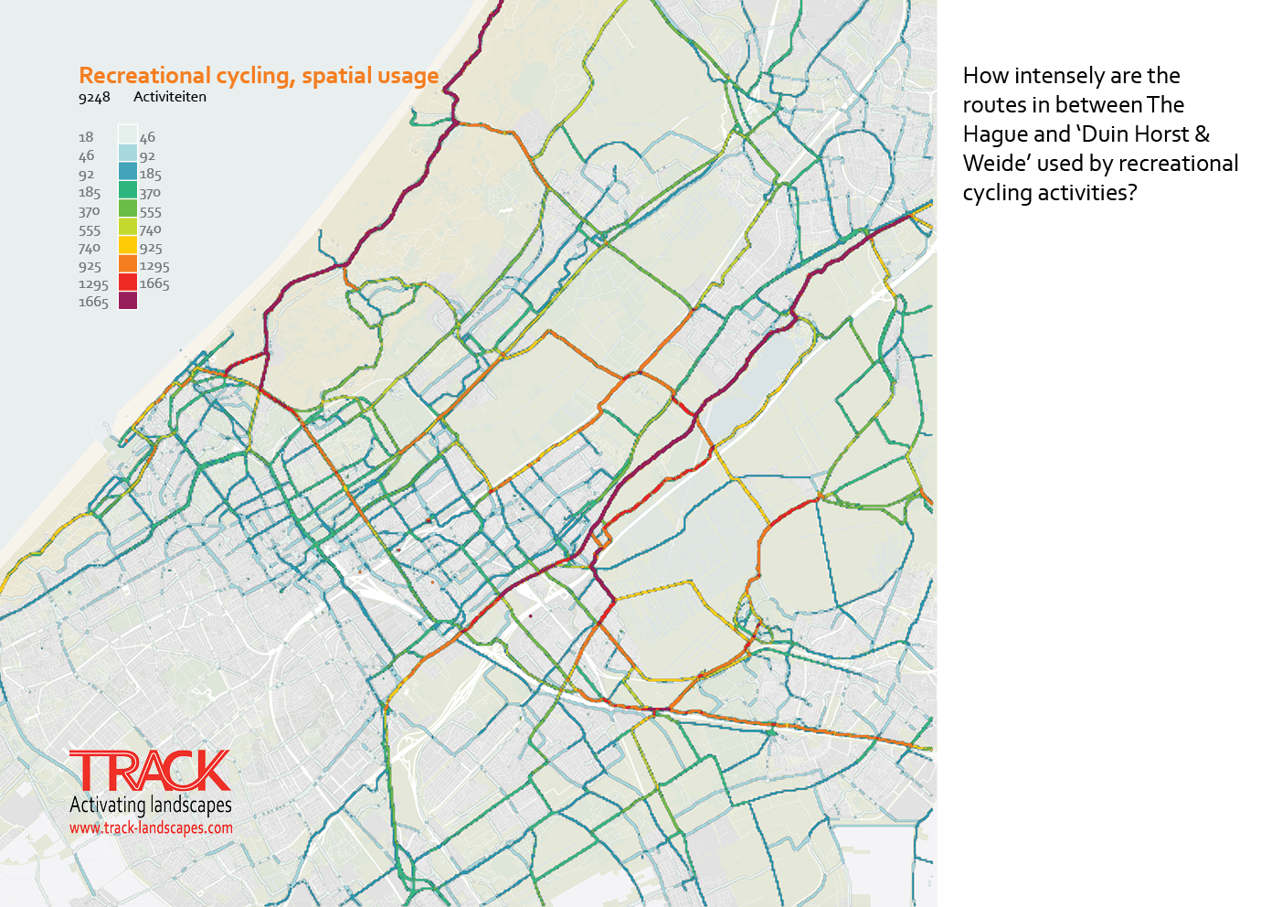 The Hague cycling behaviour
