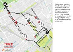 Den Haag fietsroutes park t loo
