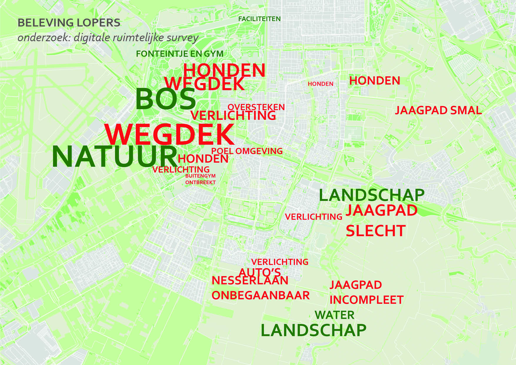 kaart-enquete amstelveen geotagged wordcloud