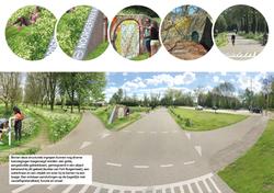 ideeën routes en entree's noorderpark utrecht track-landscapesrpark9