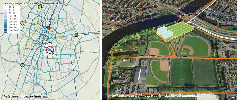OV-knoop Haarlem Schipholweg OV busstation