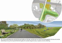 Maarschalkerweerd open sportpark sportieve routes