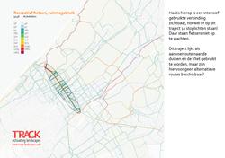 Den Haag_ruimtegebruik recreatieve fietsers stad-land verbindingenmtegebruik recreatieve fietsers