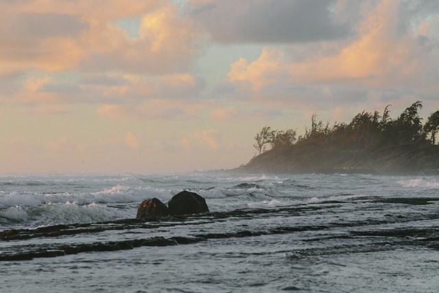 Shot taken outside of Kauai Beach Resort in Lihue