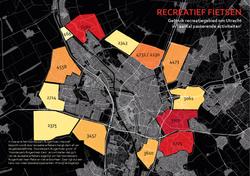 recreatie om de stad Utecht appdata fietsdata recreatief fietsen