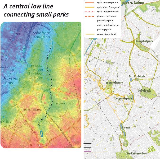 Track-landscapes_brussels beweegnetwerk_Josephatpark Elsene ponds