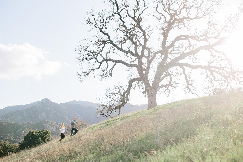 Malibu Creek Engagement Session