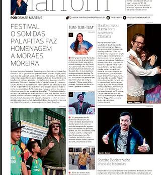Jornal Correio da Bahia Arte no Dique03.