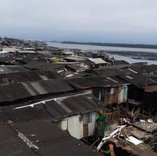 Camadas da urbanização costeira.