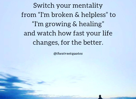 Switch your Mentality