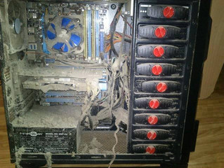 The Importance of Dusting your Computer
