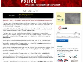 RCMP Scam