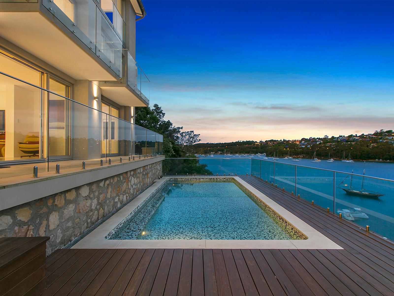 Triumph of deep waterfront luxury