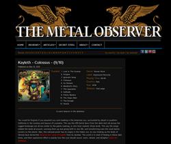 The MetalObserver Colossus Review