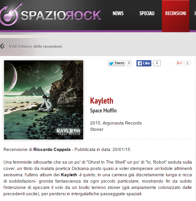 Review by SpazioRock