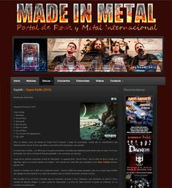 Review by Made in Metal (ESP)