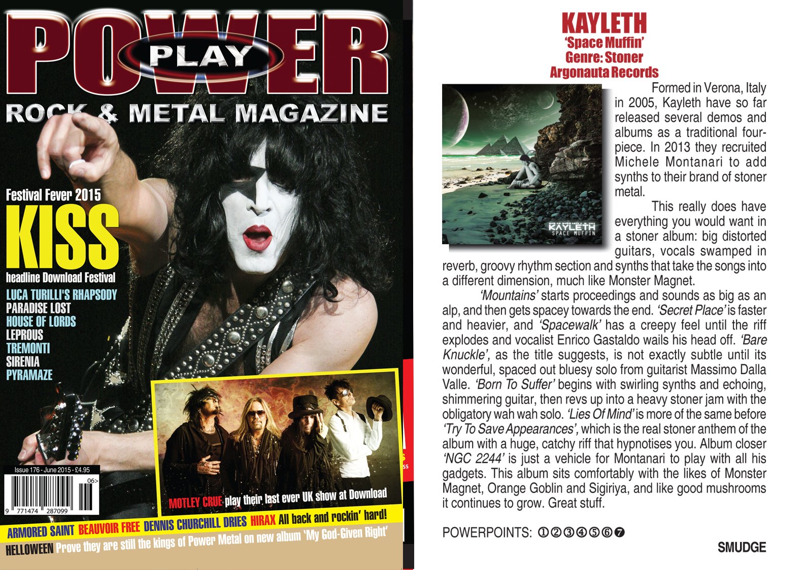 Review by POWERPLAY Magazine