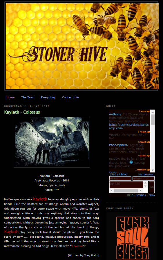"""Colossus"" review by Stoner Hive"