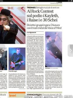 Tregnago Rock Contest 2013