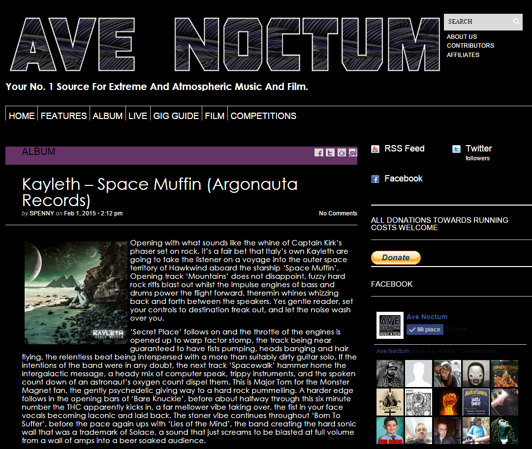Review by Ave Noctum