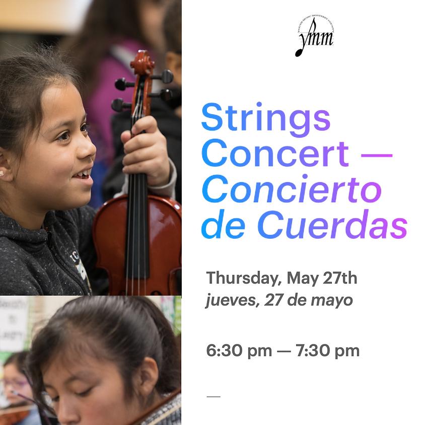 Jack Franscioni Strings Concert - Concierto de Cuerdas