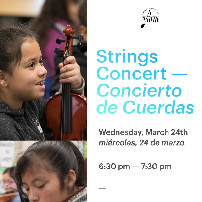 Gabilan Strings Concert - Concierto de Cuerdas