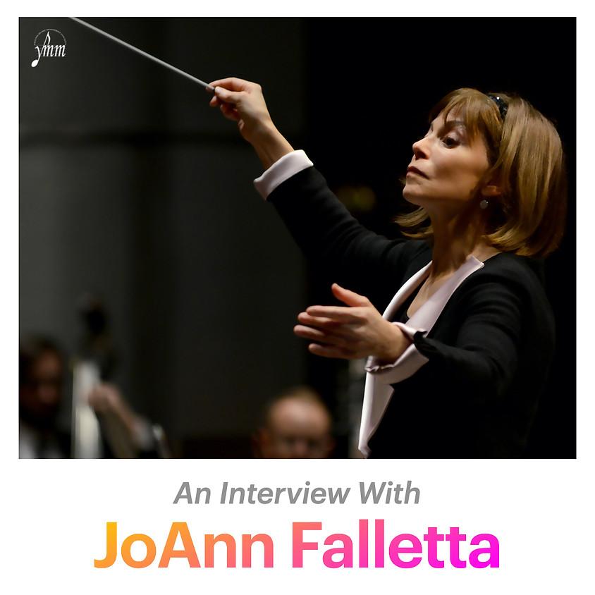 Interview with JoAnn Falletta