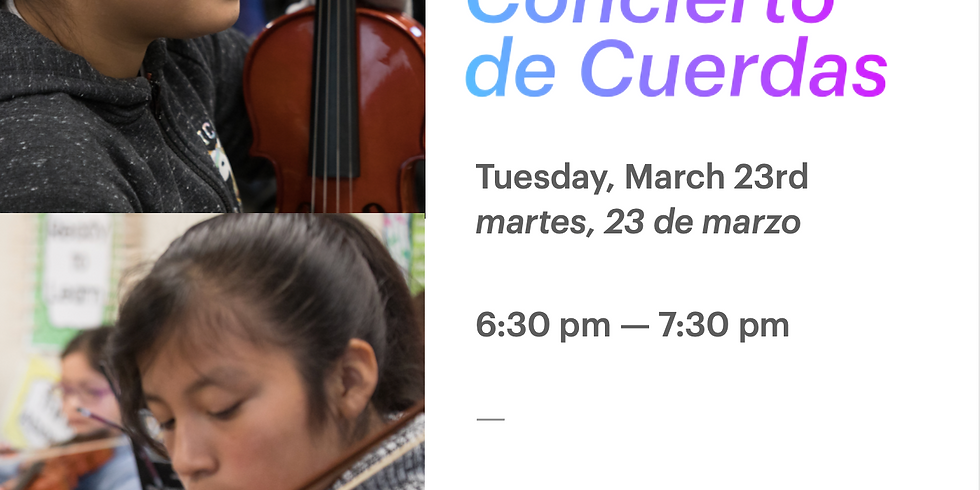 Frank Ledesma Strings Concert - Concierto de Cuerdas