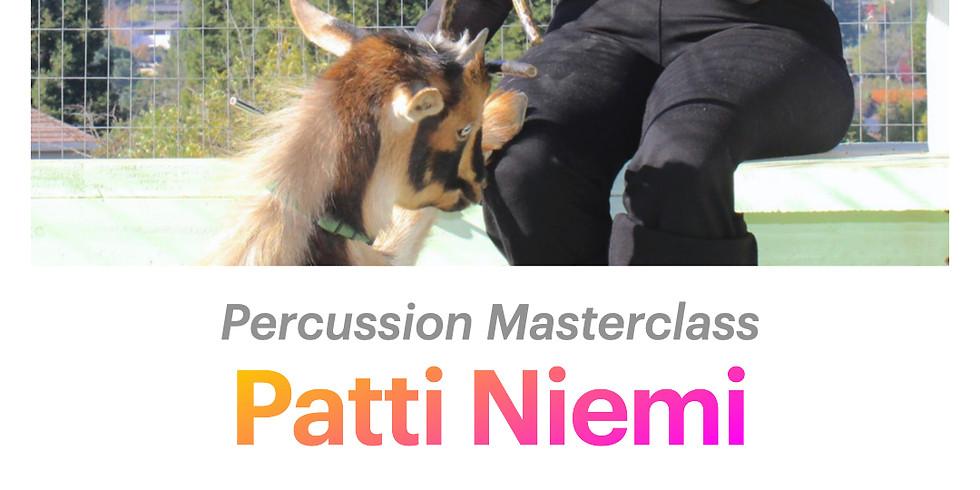 Patti Niemi: Percussion Masterclass