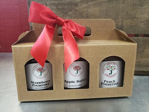 3-pack Jar Gift Set