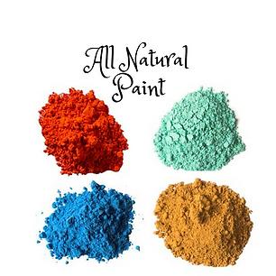 צבעי גואש טבעיים