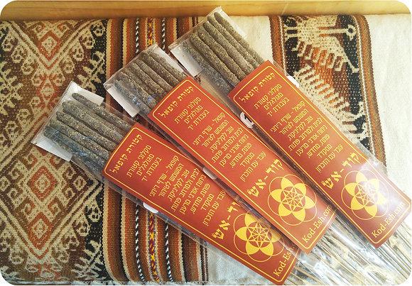 שלוש חבילות קטורת 100% קופאל