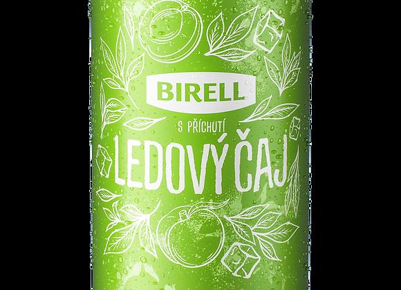 Ledový čaj s broskví od Birellu, míchaný nápoj z nealk. piva 0,5l plech