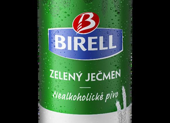 Birell Zelený Ječmen, světlé nealk. ochucené pivo 0,5l plech