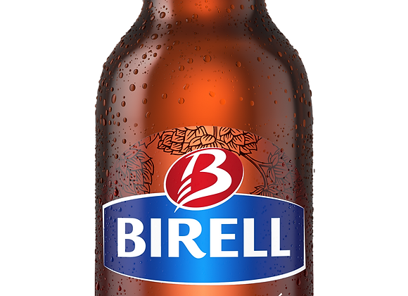 Birell Polotmavý, polotmavé nealkoholické pivo 0,5l láhev