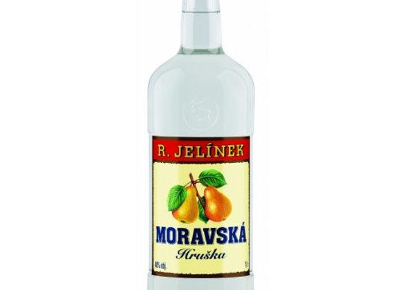 Moravská hruška Jelínek 40% 1l