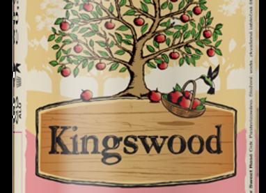 Kingswood Sweet Rosé cidr, 0,33l plech